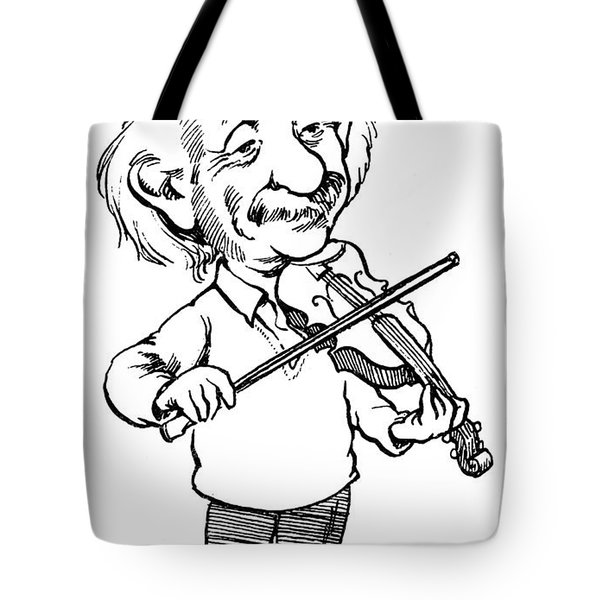 Albert Einstein (1879-1955) Tote Bag