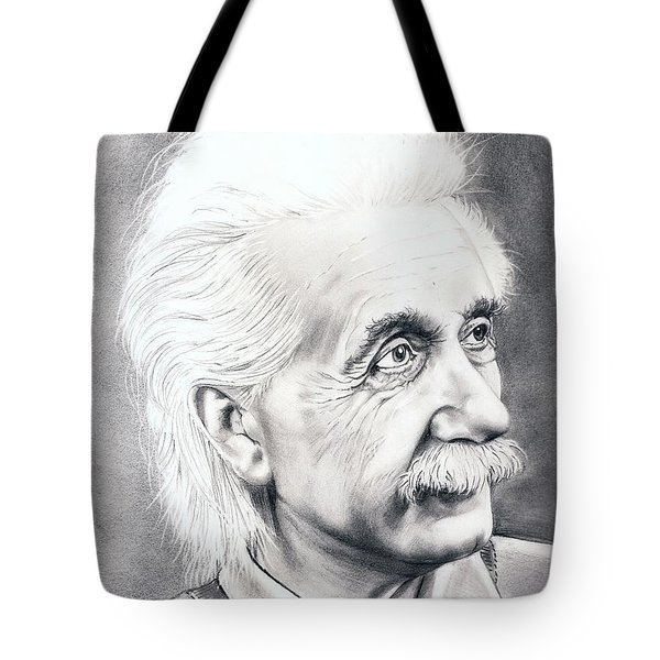 Albert Einstein  Tote Bag by Murphy Elliott