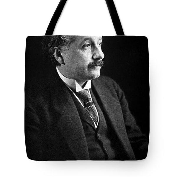 Albert Einstein Photo 1921 Tote Bag