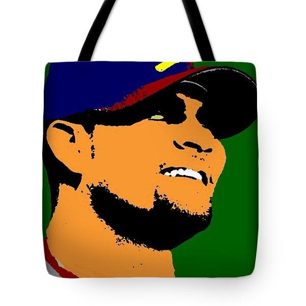 Albert Pujols Tote Bag by Paul Van Scott