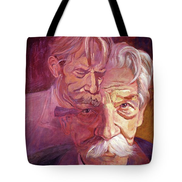 Albert Schweitzer Portrait Tote Bag