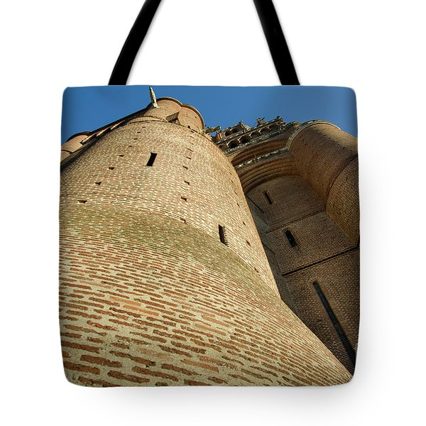 Albi Cathedral Low Angle Tote Bag by RicardMN Photography