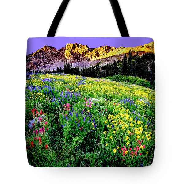 Albion Meadows Tote Bag