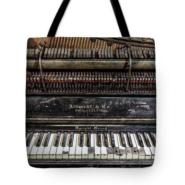 Albrecht Company Piano Tote Bag