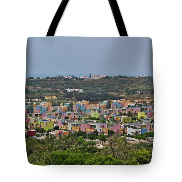 Albufeira Marina View Tote Bag