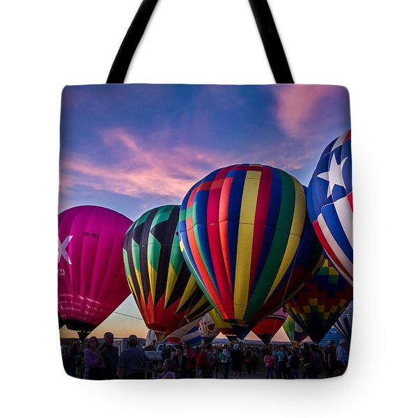 Albuquerque Hot Air Balloon Fiesta Tote Bag