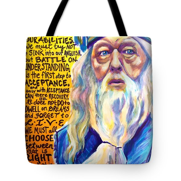 Albus Tote Bag by Alicia VanNoy Call
