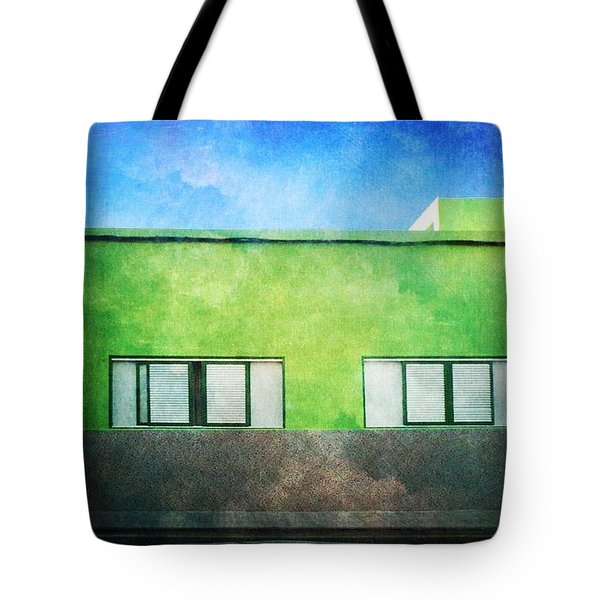 Tote Bag featuring the photograph Alcala Green House No1 by Anne Kotan