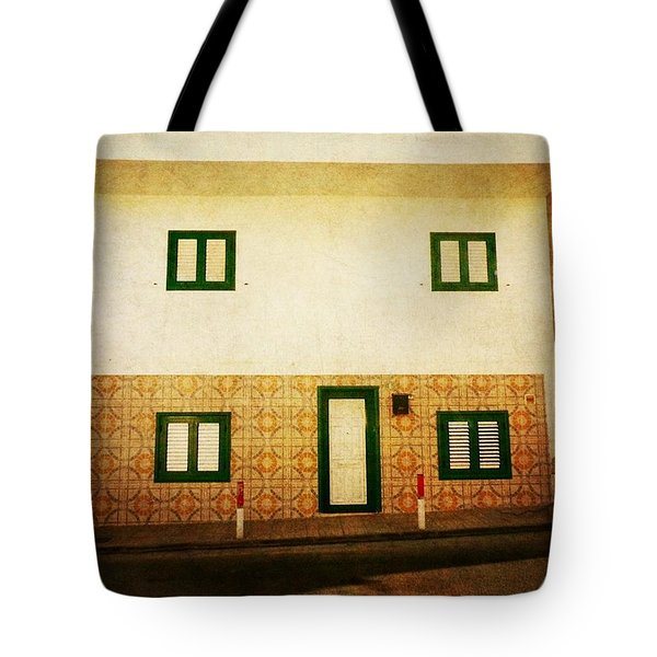 Tote Bag featuring the photograph Alcala White House No1 by Anne Kotan