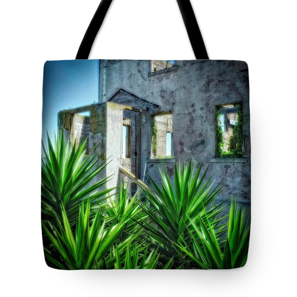 Alcatraz #1 Tote Bag by Jerry Golab