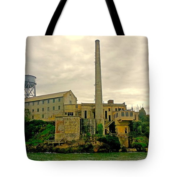 Alcatraz From The West Tote Bag