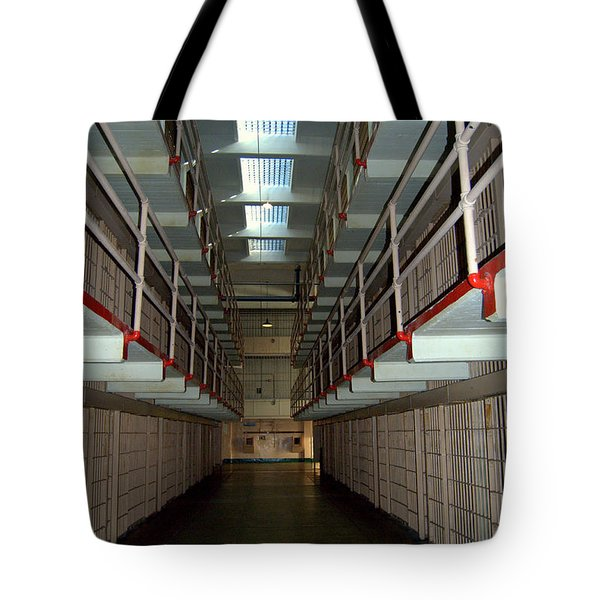 Alcatraz Revisited Tote Bag