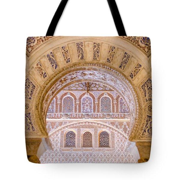 Alcazar Of Seville - Unique Architecture Tote Bag