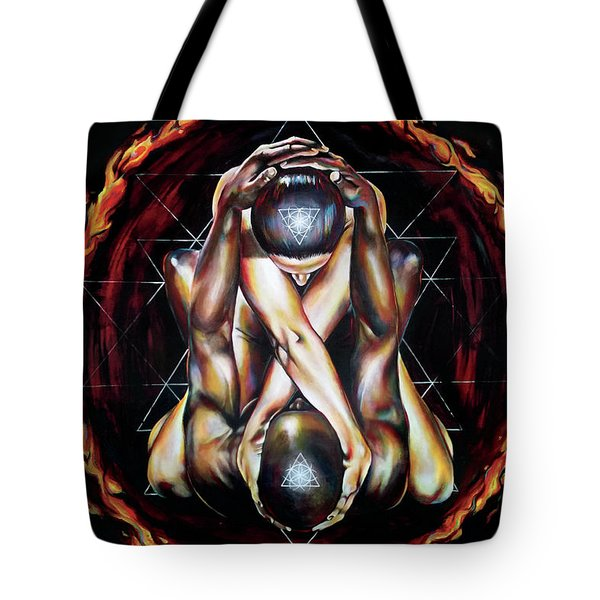 Alchemical Marriage Tote Bag