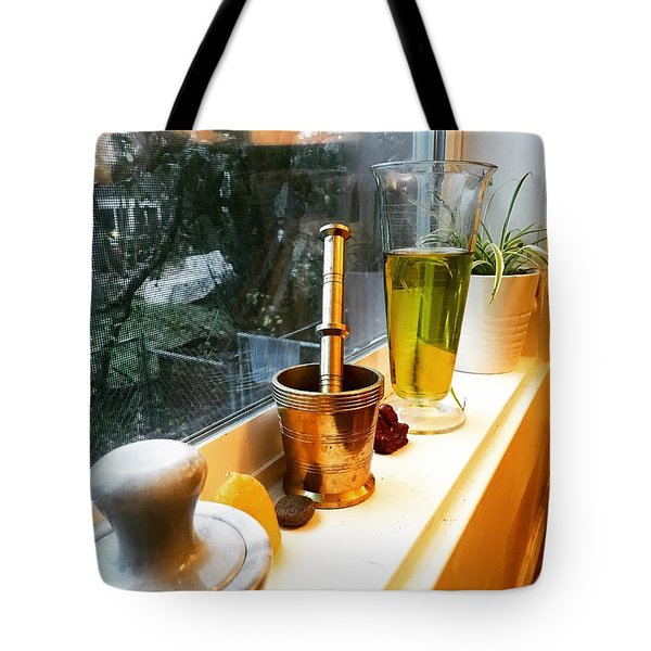 Alchemy And Oils Tote Bag