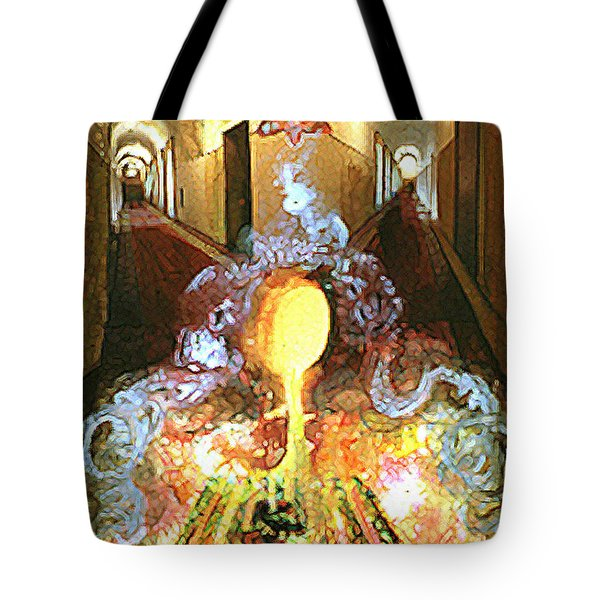 Alchemy Tote Bag by Anne Cameron Cutri