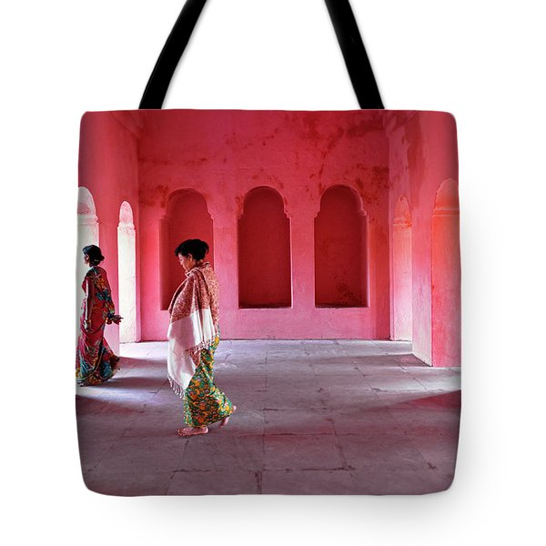 Alcoves Tote Bag by Marji Lang
