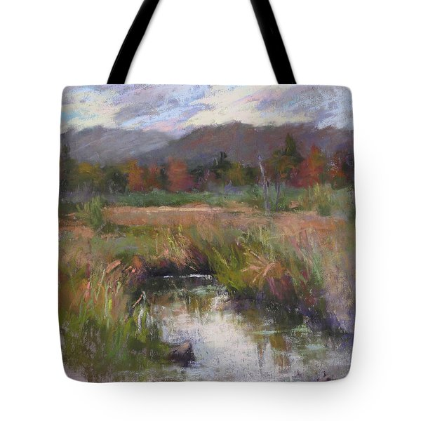 Alder Meadow September Tote Bag