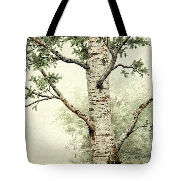 Alder Tree Tote Bag