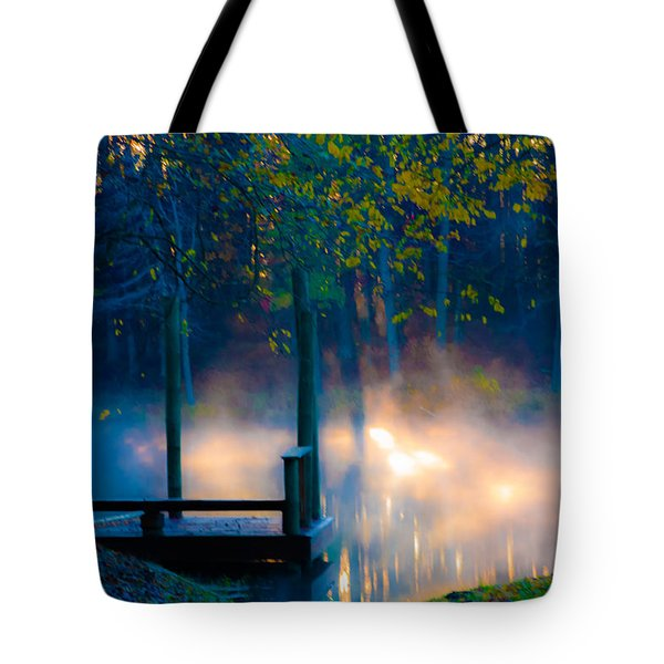 Aldred Pond Tote Bag