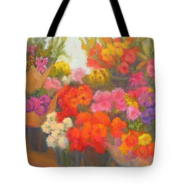 Alegria De Vivir Tote Bag by Bunny Oliver