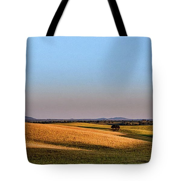Tote Bag featuring the photograph Alentejo Fields by Marion McCristall
