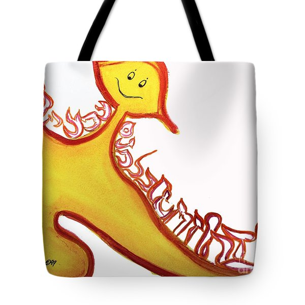 Aleph, At One Tote Bag