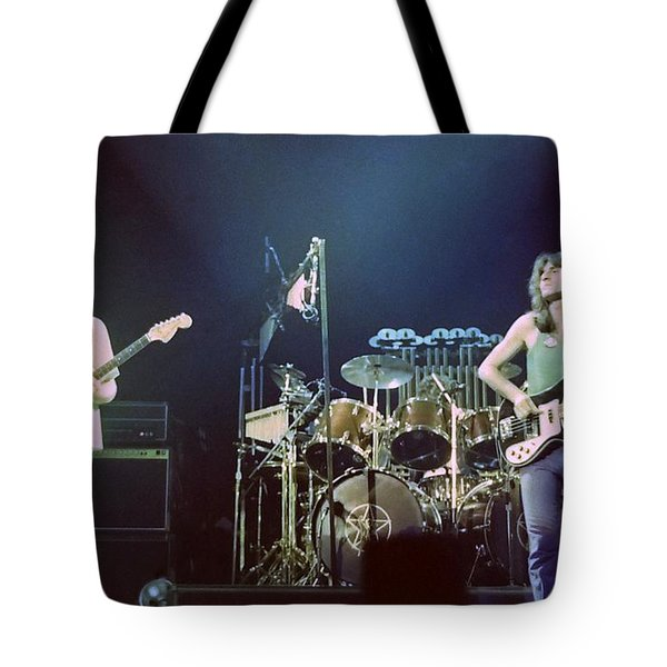 Alex Geddy And Neil Tote Bag