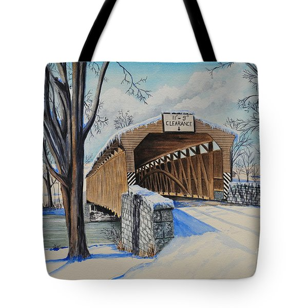 Alexander Bridge Tote Bag