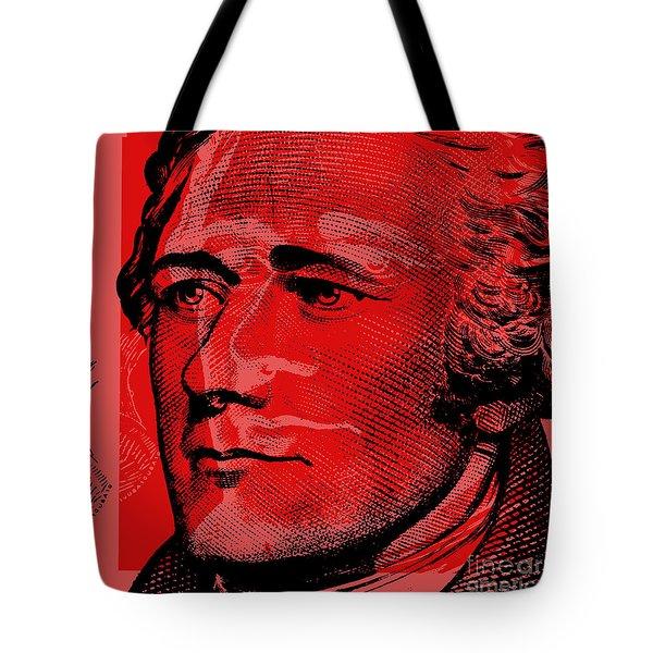 Alexander Hamilton - $10 Bill Tote Bag