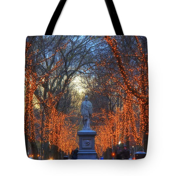 Alexander Hamilton On The Commonwealth Tote Bag