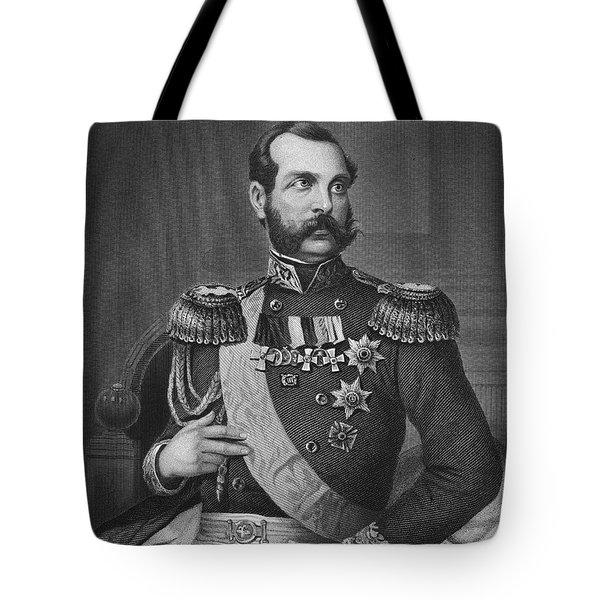 Alexander II (1818-1881) Tote Bag by Granger