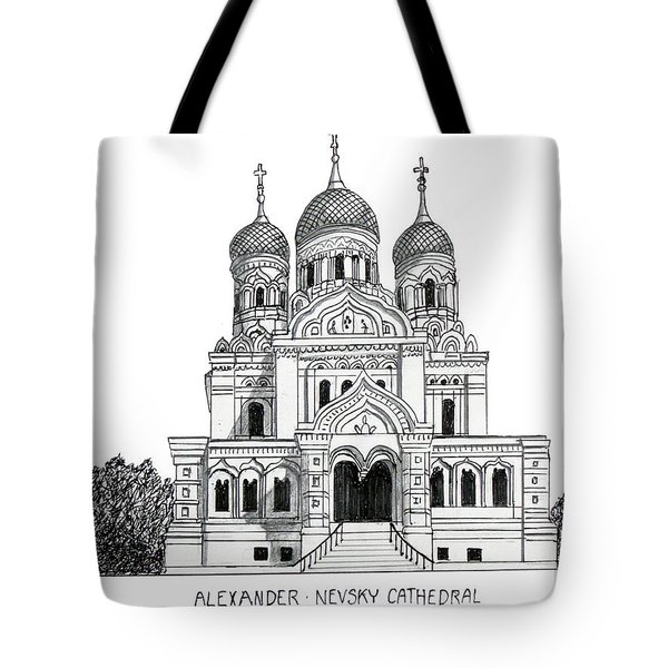 Alexander Nevsky Cathedral Tote Bag