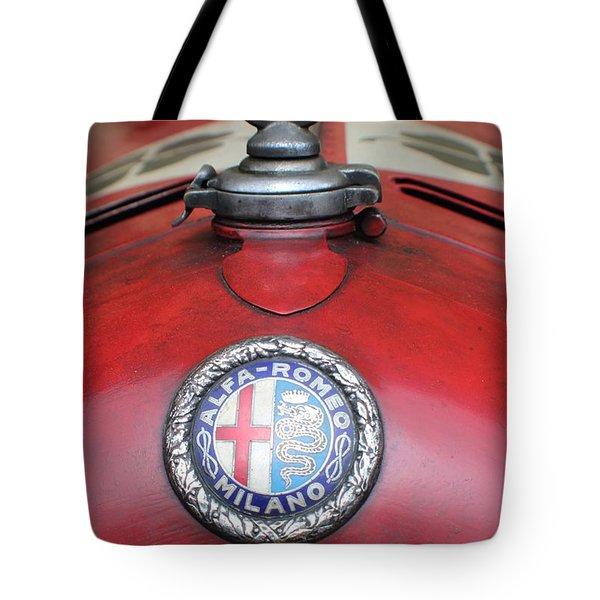Alfa Romeo 8c 2600 Muletto Tote Bag