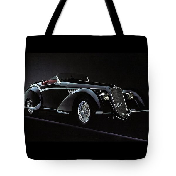 Alfa Romeo 8c 2900 Mercedes Benz Tote Bag