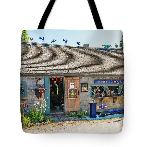 Alfie Glover's Bird Barn Tote Bag