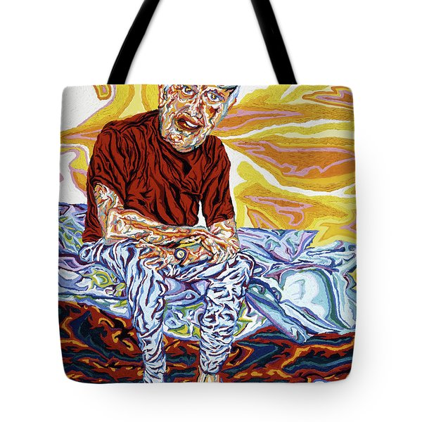 Alfred's Last Days Tote Bag by Robert SORENSEN