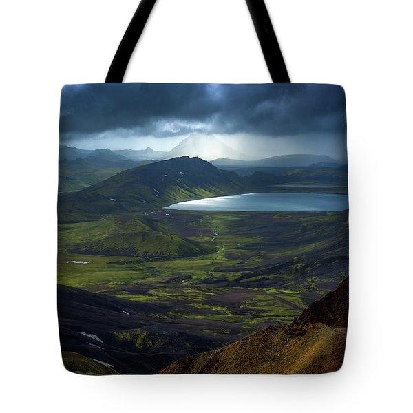 Alftavatn Tote Bag