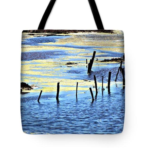 Algae Bloom Tote Bag by Bob Wall