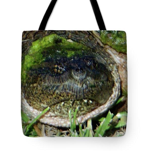 Algae Face Common Snapper Tote Bag