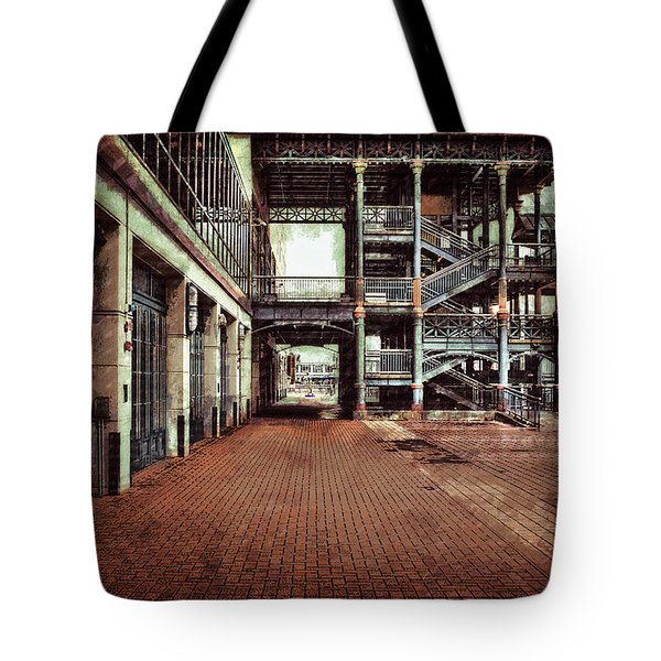 Algiers Ferry Dock Tote Bag