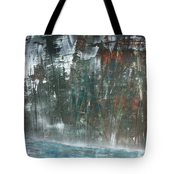 Algonquin Forest River Tote Bag
