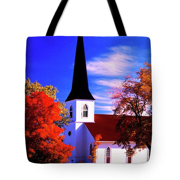 Algonquin Rd Church St Johns United  Tote Bag