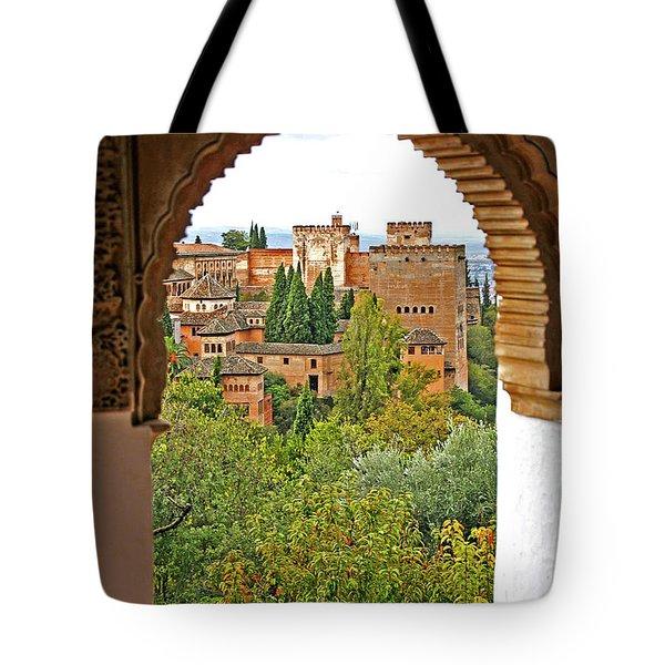 Alhambra - Granada, Spain Tote Bag