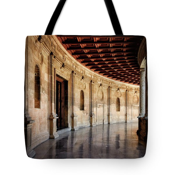 Alhambra Reflections Tote Bag