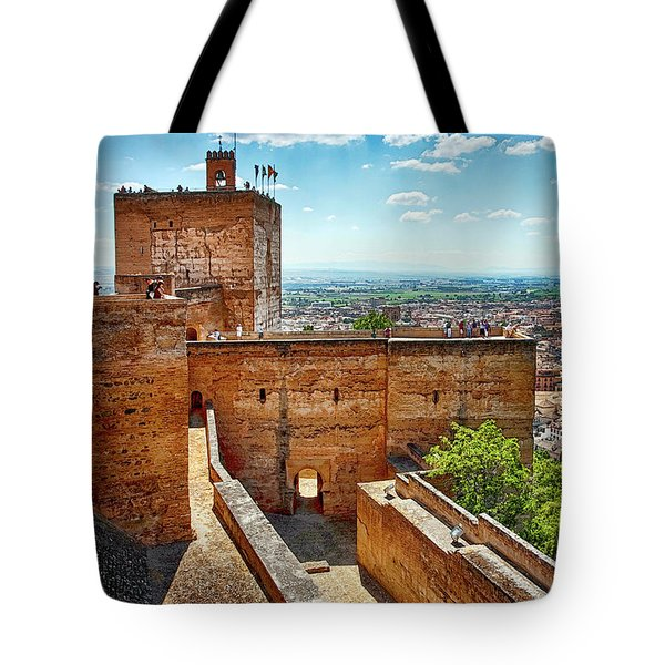 Alhambra Tower Tote Bag