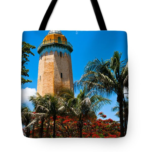 Alhambra Water Tower Tote Bag