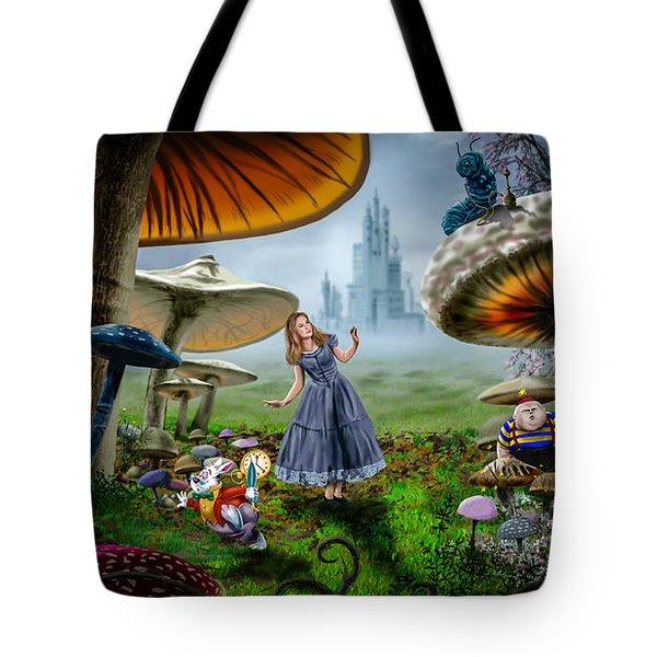 Ali In Wonderland Tote Bag