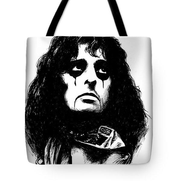 Alice Cooper Tote Bag