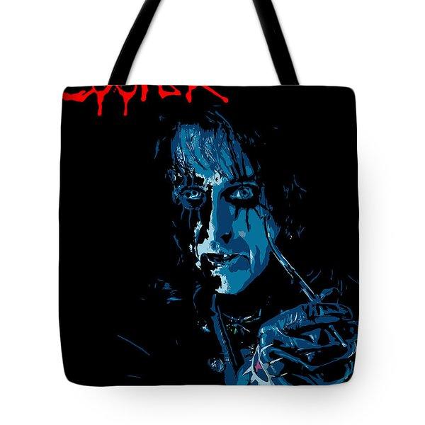 Alice Cooper Tote Bag by Caio Caldas